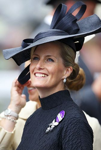 Countess of Wessex, June 19, 2014 in Jane Taylor| Royal Hats....Ascot Day 3: Ladies' Day.....Posted on June 19, 2014 by HatQueen