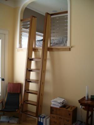 Loft Ladder Sleeping Lofts Pinterest Loft Ladders