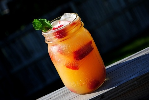 Shaken Nectarine Vodka ChillersFun Recipe, Yummy Things, Vodka Chiller, Summertime, Nectarine Vodka, Cocktails, Drinks, Shaken Nectarine, Summer Time