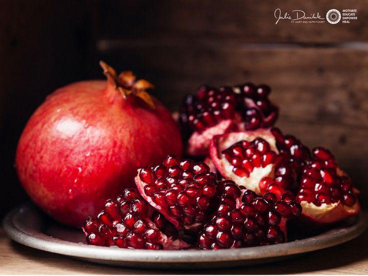 Crazy About Pomegranates by JulieDaniluk.com