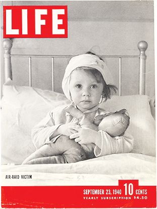 On this day in LIFE — September 23, 1940: Air-Raid Victim