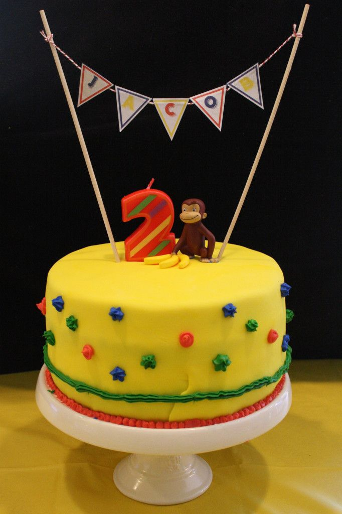 Curious George-themed birthday party - #kidspartyKids Birthday, George Them Birthday, Birthday Parties, Boys Birthday, 1St Birthday, 3Rd Birthday, 2Nd Birthday, George'S Them Birthday