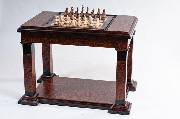 """Шахматные авторские столы, шахматные доски, шахматные фигуры. - Meбельная фабрика """"РАдеРА"""""""