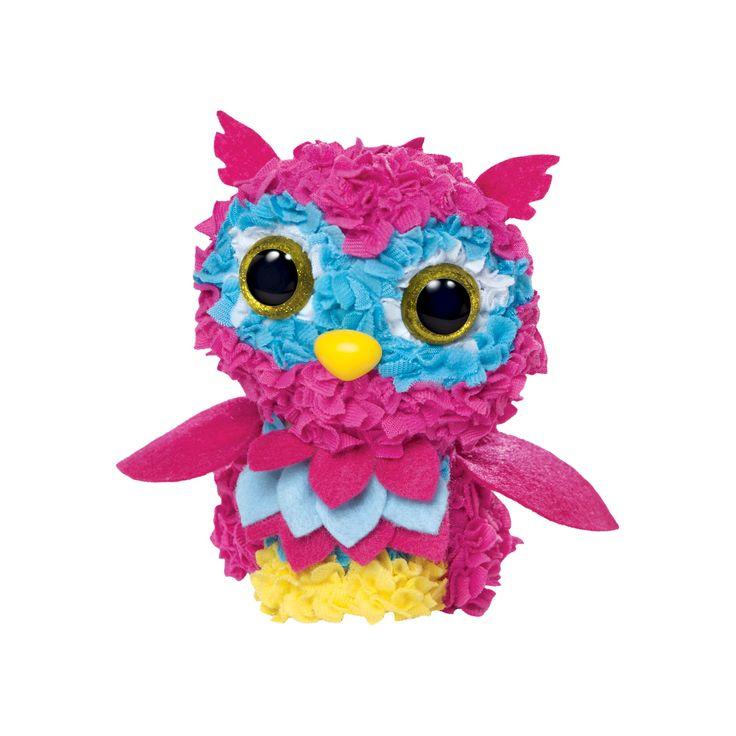 PlushCraft Diy Fabric Owl