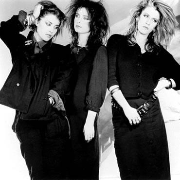 Bananarama. (L-R) Siobhan Fahey, Keren Woodward & Sara Dallin.