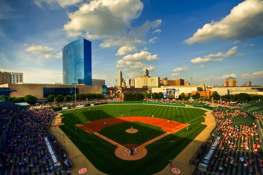 Review Of Victory Field Home Of The Indianapolis Indians Voted One Of The Best Minor League Ballparks Indianapol Indiana Indianapolis Baseball Stadium