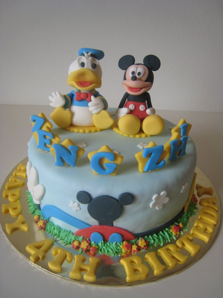 1000 Ideas About Donald Duck Cake On Pinterest Goofy