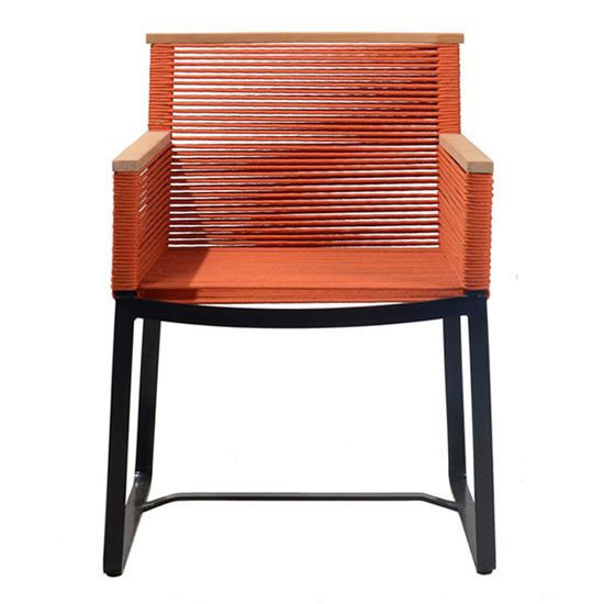 FCH273-O Cable Dining Chair