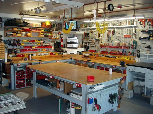 25 best ideas about home workshop on pinterest garage