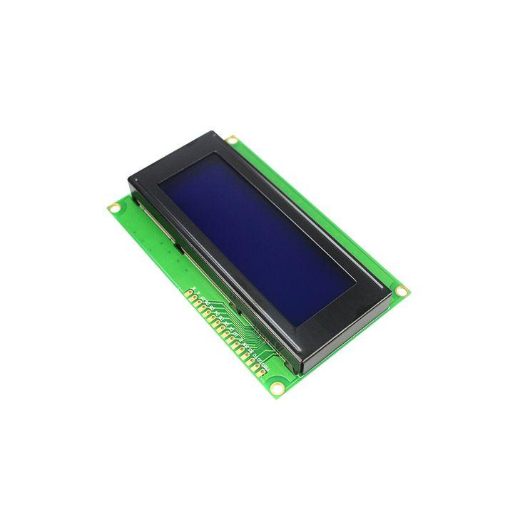 O envio gratuito de 10 pçs/lote Board LCD 2004 20*4 20X4 LCD 5 V Tela Azul Exibição LCD2004 Módulo LCD para arduino Diy Kit