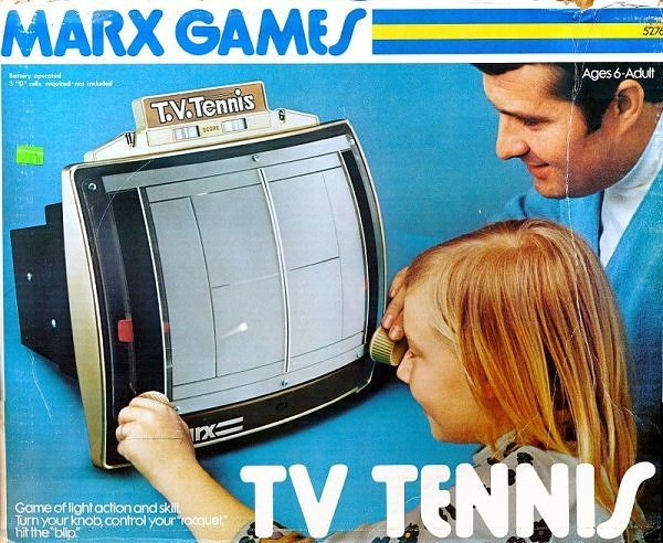 Marx TV Tennis [1977] Tennis and TVs