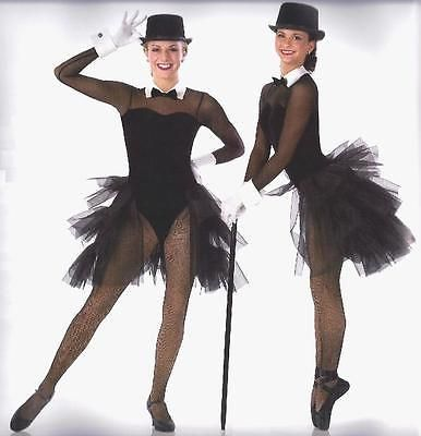Steppin en Estilo Ballet Tutú De Baile Disfraz Esmoquin jazz tap CM, CL y como Avail.   Ropa, calzado y accesorios, Trajes de baile, Trajes de baile para adultos   eBay!