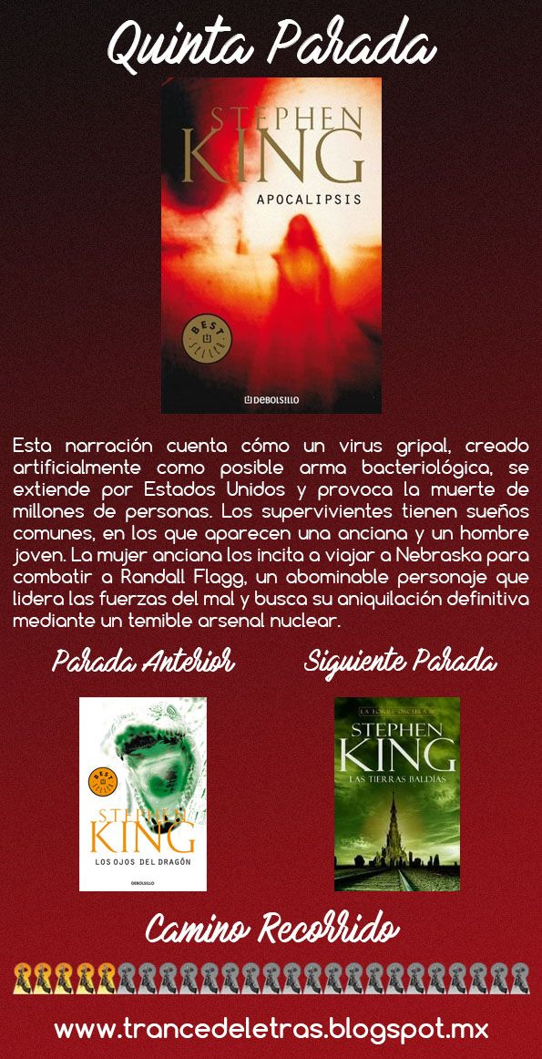 Camino a la Torre Oscura #5: Apocalipsis de Stephen King