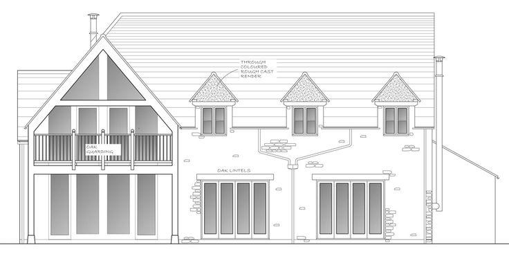 Architecturally designed 4 Bedroom Oak Frame House - The Complete Oak Home