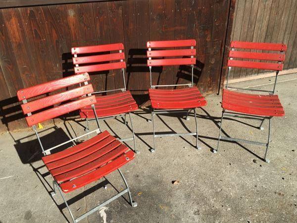 4 klappbare Gartenstühle Bemag - 08.02.2016 17:01:21 - 1