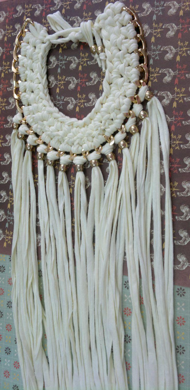 collar de flecos disponible en El Taller De Adrian