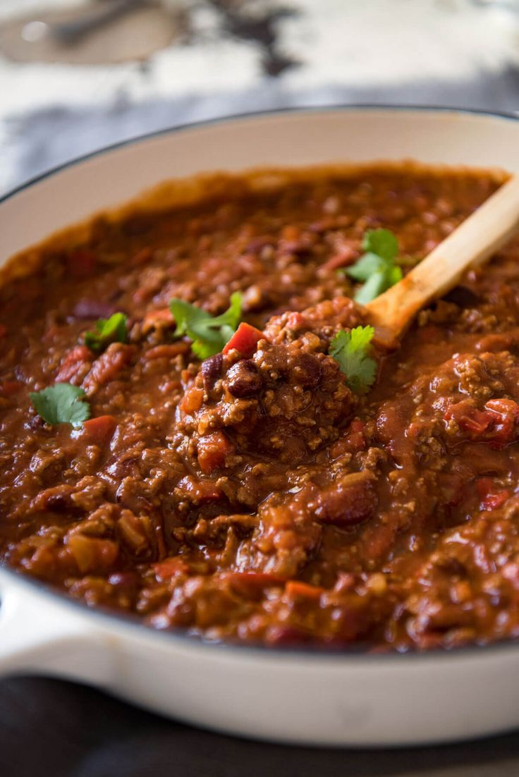 This hearty classic is made with beef in a richly spiced tomato sauce. Even better the next day! www.recipetineats.com