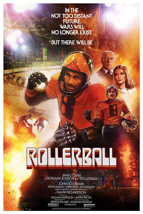 Rollerball - movie poster - Paul Shipper
