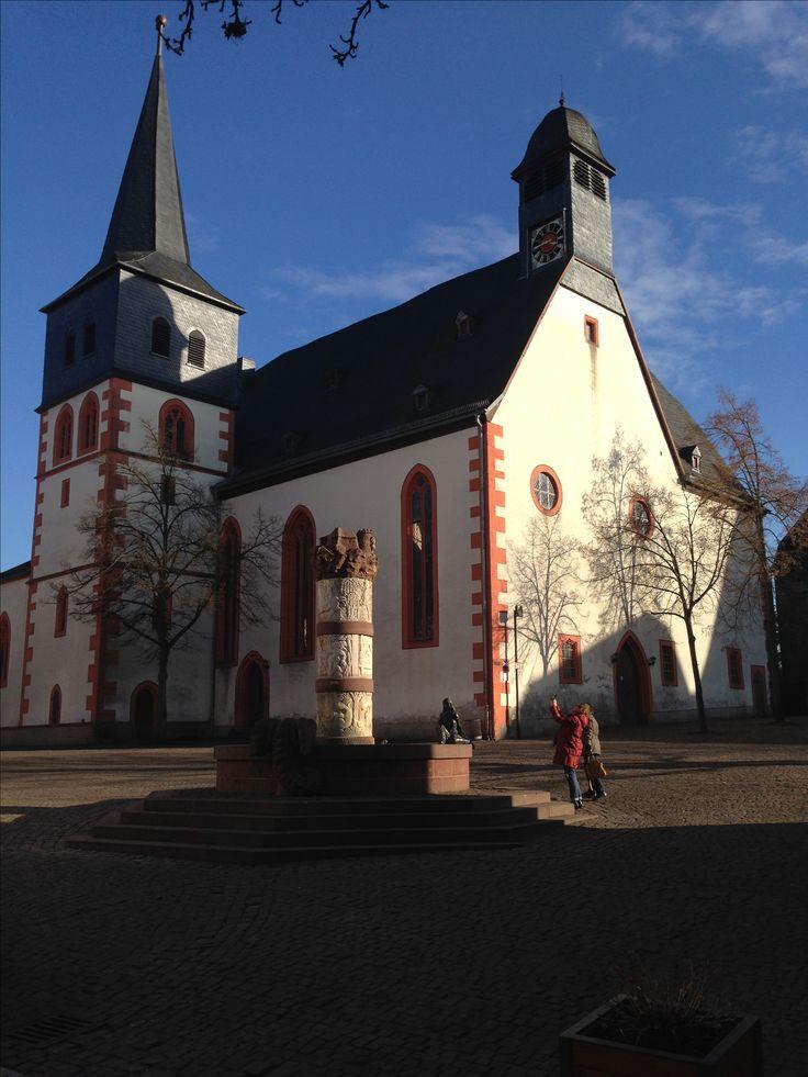 Katharinenkirche (12. Jahrhundert) in Steinau an der Straße.