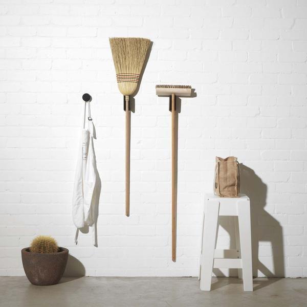 Harry Holder | Broom Holder Mount & Wall Bracket | Home & Garden Accessories | DesignByThem