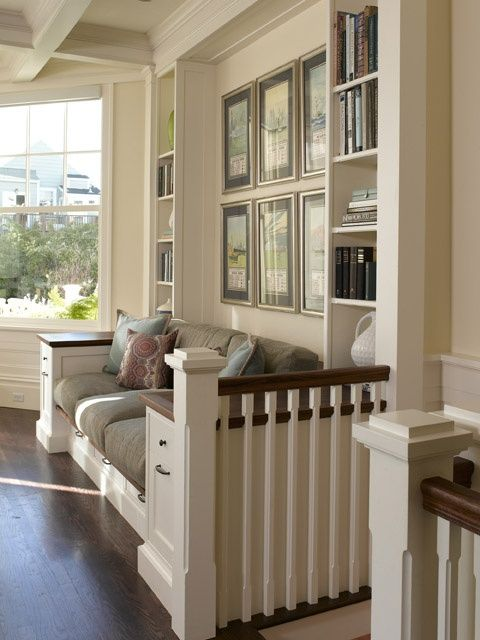 A small space home with loads of built in charm this old house could be modified for window seat when space is short it pays to put every nook cranny