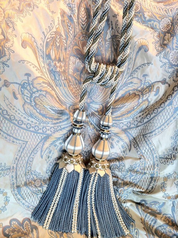 Trimmings tiebacks braids bullion 39 s tassels and - Accesorios para cortinas ...