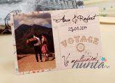 Marturie magnetica personalizata cu fotografie carte postala | Accesorii nunta - Marturii de nunta
