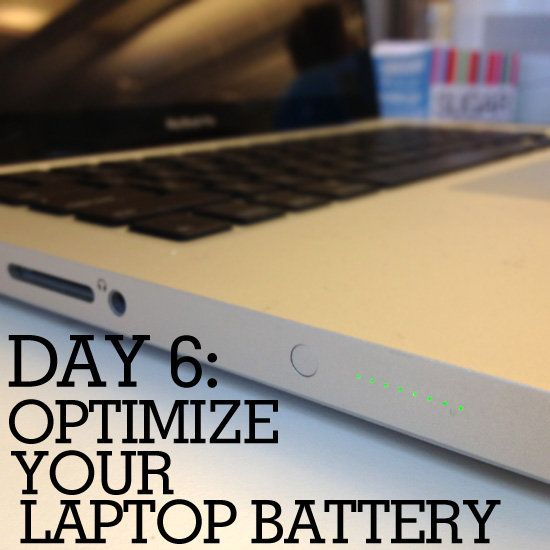 31 Days Of Spring Cleaning Optimize Your Laptop Battery Laptop Battery Optimization Clean Laptop