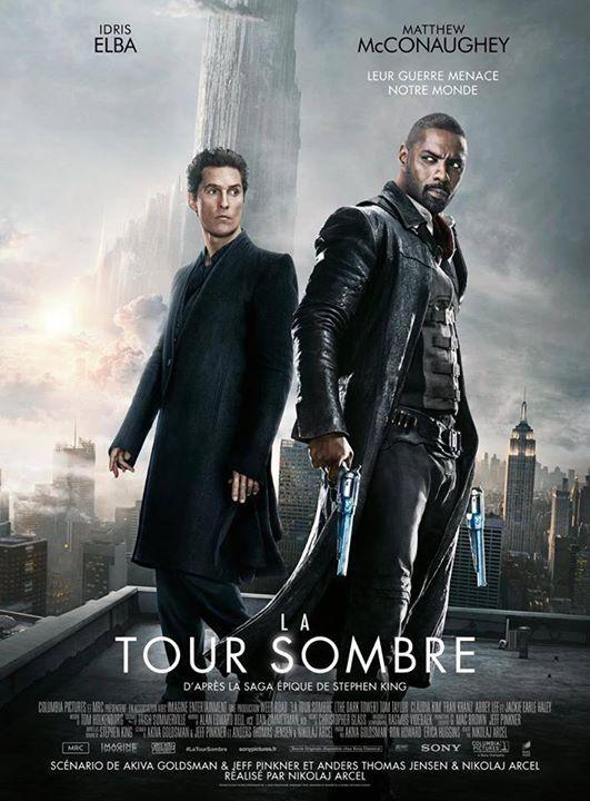L'affiche française de LA TOUR SOMBRE