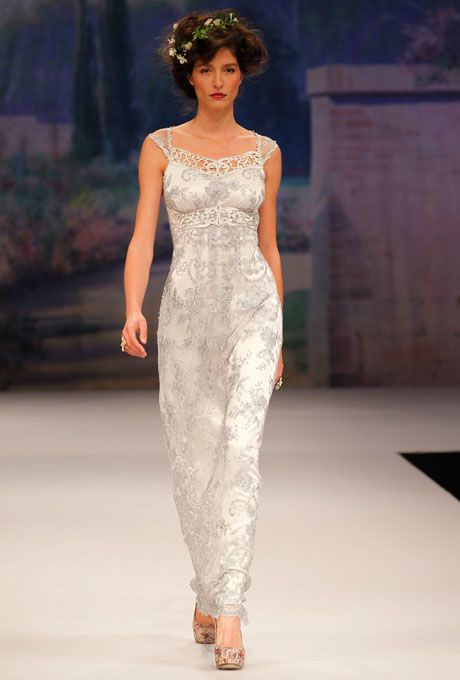 1000 images about second wedding dresses older women on for Second wedding dresses with sleeves