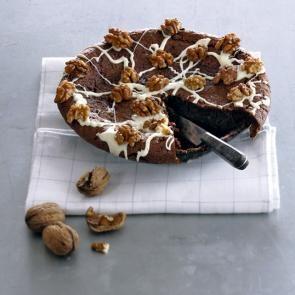 Chocolade-walnotentaart | Smaakmakend | biologisch |  recepten | eten | food | bionext