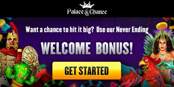 Palace Of Chance Free Bonus Codes