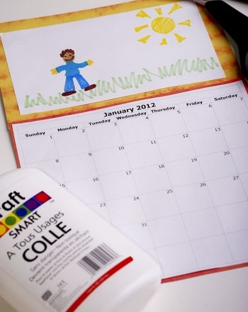 Activities: Make a Back to School Calendar