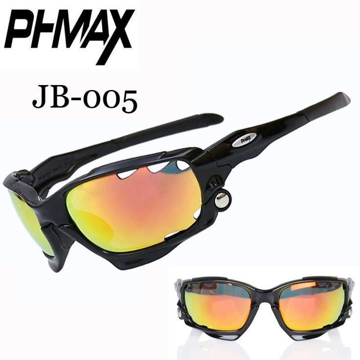 PHMAX Cycling Sun Glasses MTB Bike Cycling Sunglasses Gafas de Ciclismo Mountain Bicycle Cycling Eyewear 3 Lens