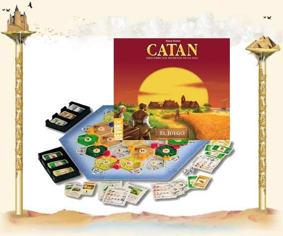 Los Colonos de Catan: Spiel des Jahres 1995