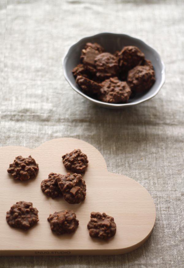 Bombones de chocolate y almendra