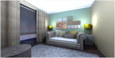 Teenagers room concept @Nicky Day.net