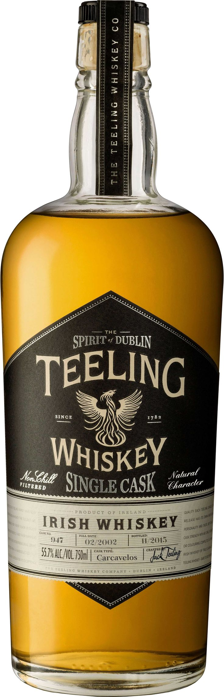 Teeling Carcavelos Barrel Aged Single Cask Irish Whiskey | @Caskers