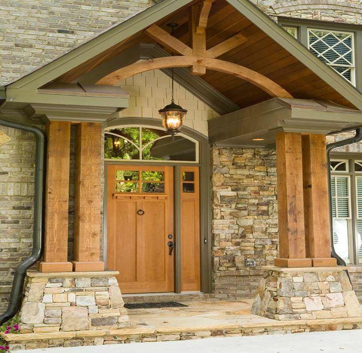 Attaching Stone Pillars To Wood Deck Atlanta S Top
