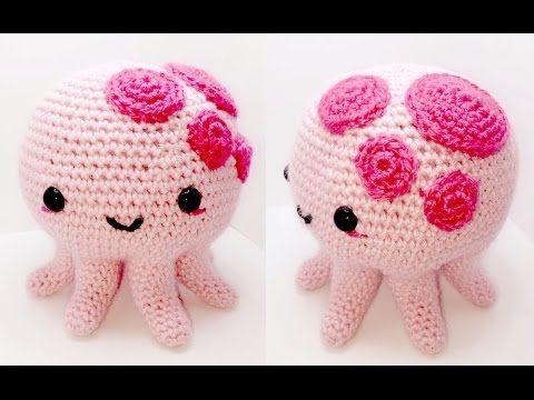 Amigurumi Octopus Mohu : 331 best crochet jelly fish squid octopus images on pinterest