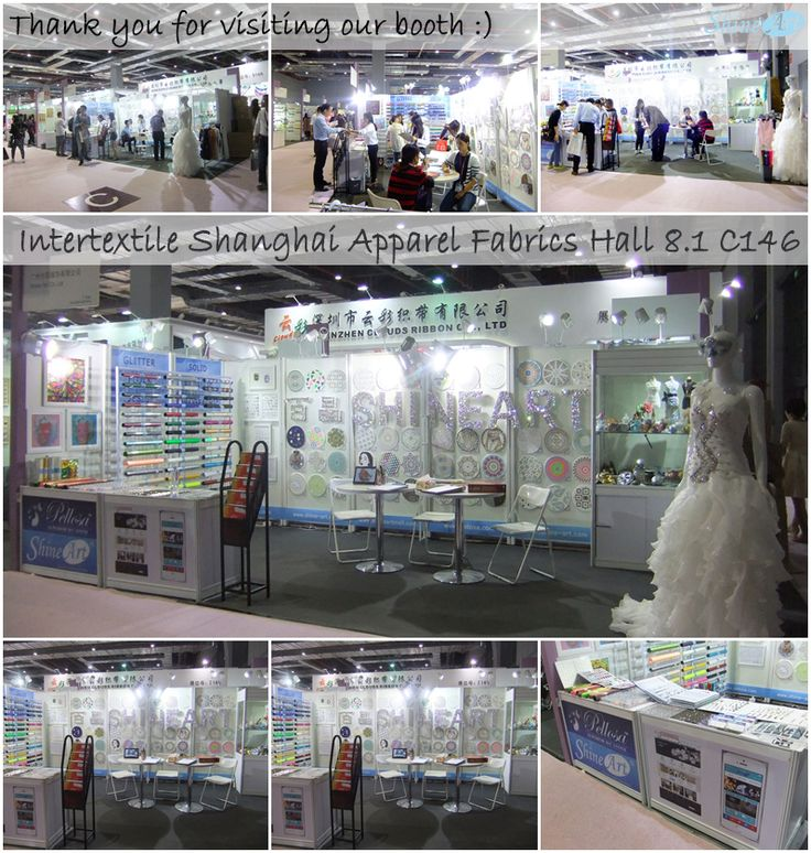 Thank you for visiting our booth in Intertextile in Shanghai.  We are preparing the next show in Russia. Please visit there, too. We always welcome you.