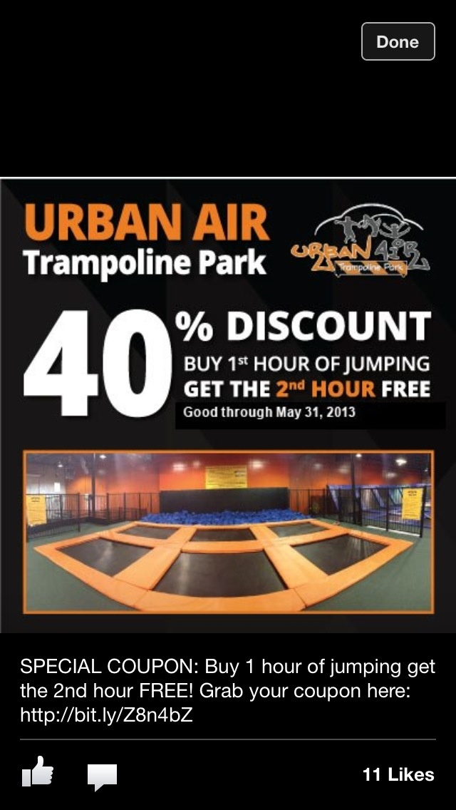 Pin by Urban Air Trampoline Park on Trampoline Park Awards