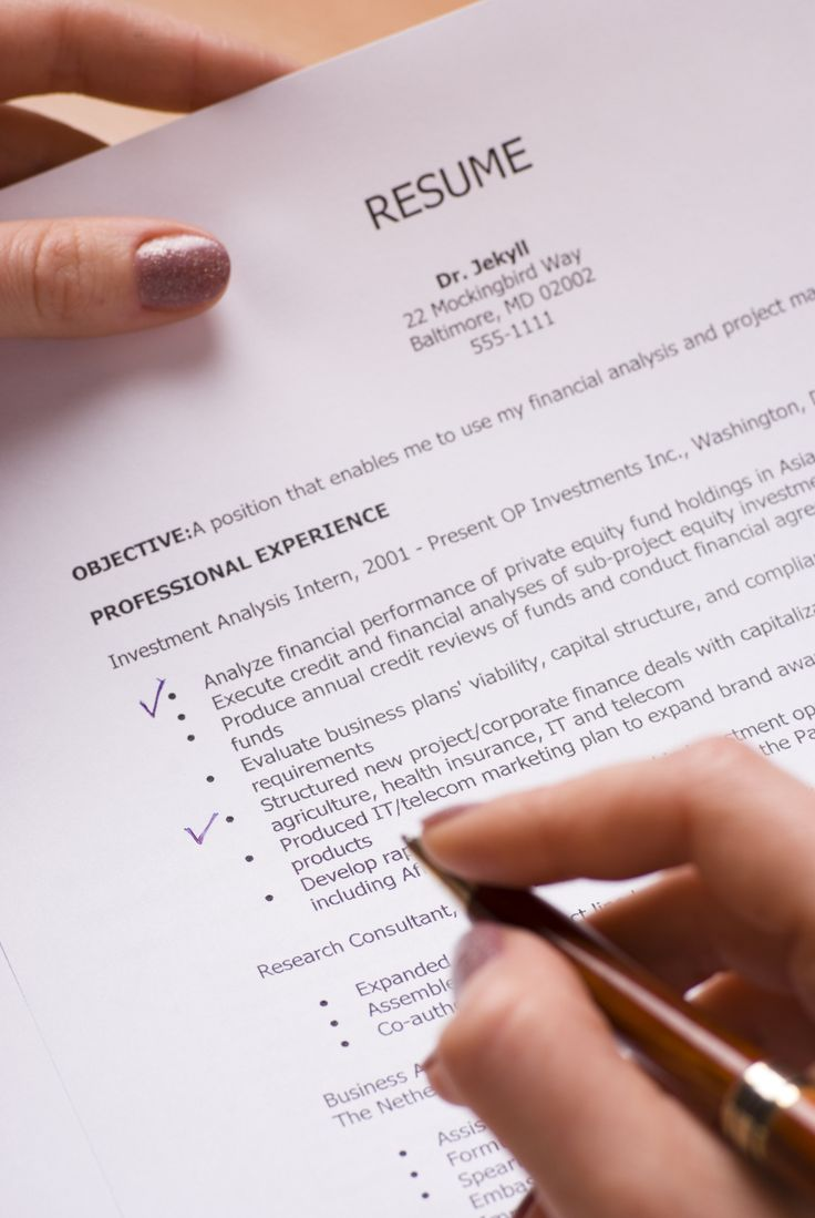 Your Resume Shouldn't Be Written In Stone