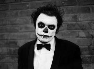 easy skeleton makeup - Halloween Skeleton Makeup Ideas