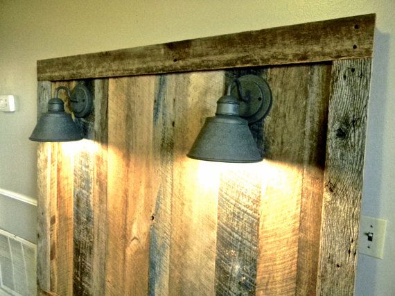 Best 25 Rustic Light Fixtures Ideas On Pinterest: Best 25+ Headboard With Lights Ideas On Pinterest