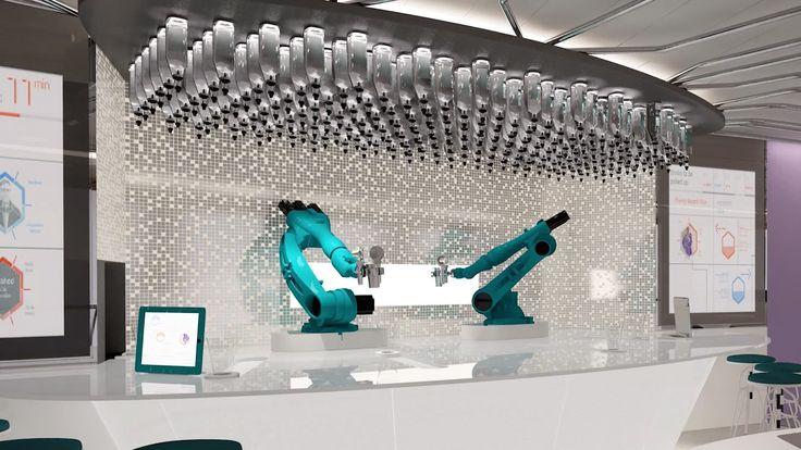 Robotic Bar, Quantum of the Seas