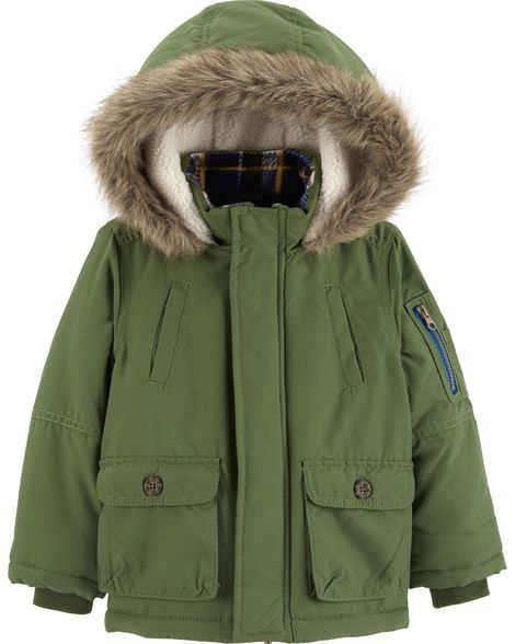 2e78f6f1b94 Hooded Parka Jacket in 2019 | Products | Outerwear jackets, Hooded ...