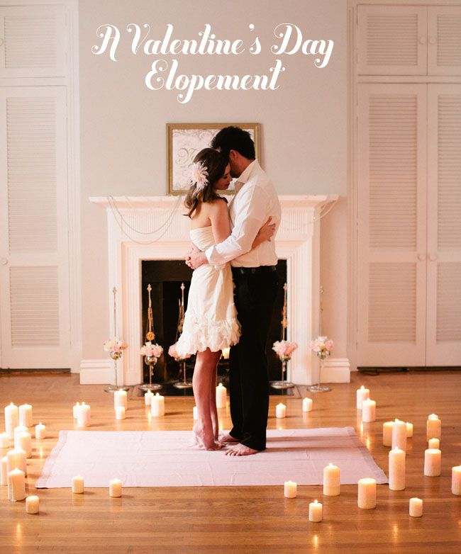 Beautiful elopement. Click for pictures. I LOVE this idea! Small intimate wedding day with a small reception and maybe have a big party later for the extended family and friends.