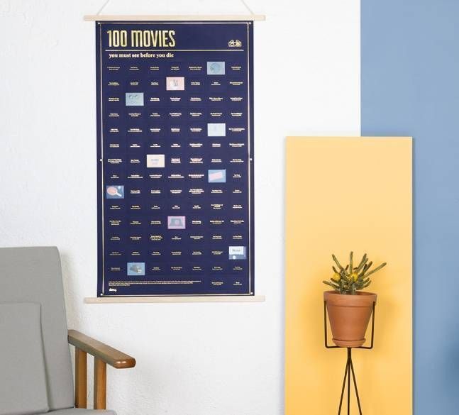 100 Movies You Must See Poster. Time flies. Life isn't long. Make the most of your time by doing lots of things that are fun. And worthwhile. Like watching great movies. Not average movies. The best. Buy the 100 Movies You Must See Poster today.