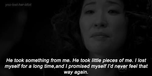 "Learn from the past and don't repeat it. |  Life Lessons As Told By Cristina Yang From ""Grey's Anatomy"""
